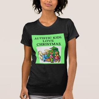 Autistic kids love Christmas T Shirt