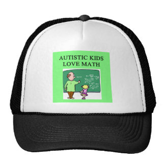 autistic kids love math trucker hats
