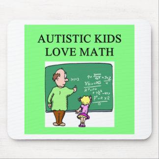 autistic kids love math mouse mats