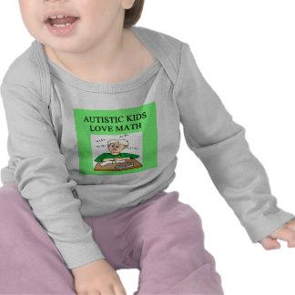 autistic kids love math t-shirts
