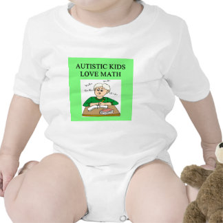 autistic kids love math shirts