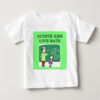 autistic kids love math tshirt