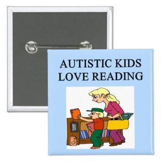 autistic kids love reading button