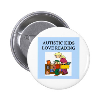 autistic kids love reading pins