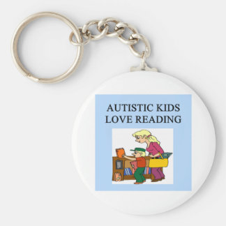 autistic kids love reading key chains