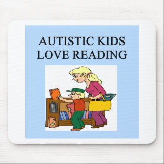 autistic kids love reading mouse pads