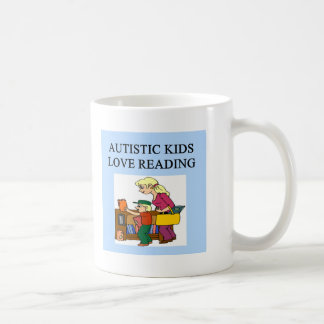 autistic kids love reading coffee mugs