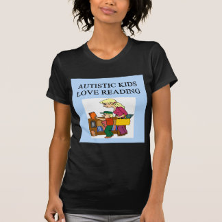 autistic kids love reading shirt