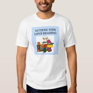 autistic kids love reading t shirts