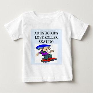autistic kids love rollerskating t shirts