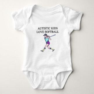 autistic kids love softball shirts