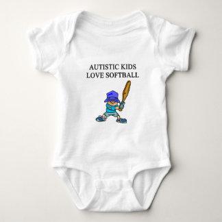autistic kids love softball t shirts