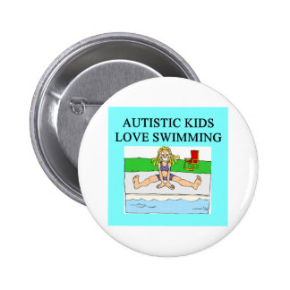 autistic kids love swimming buttons
