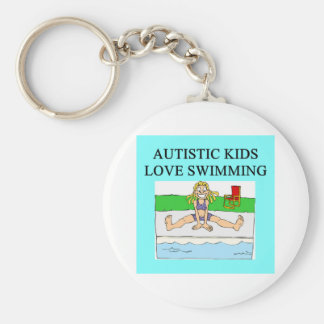 autistic kids love swimming key chains