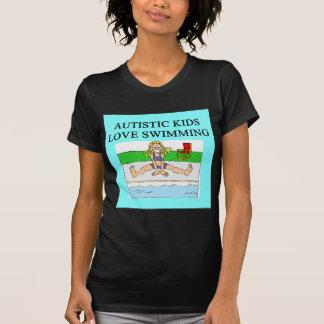 autistic kids love swimming t shirts