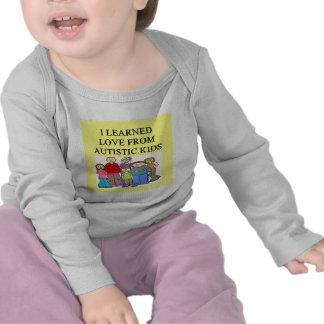 autistic kids love t shirt