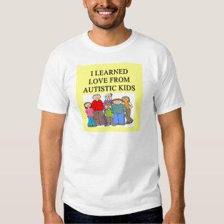 autistic kids love tshirt