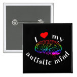 Autistic Mind Buttons