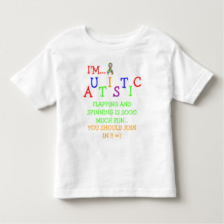 Autistic Olympics! ~ Toddler T-Shirt