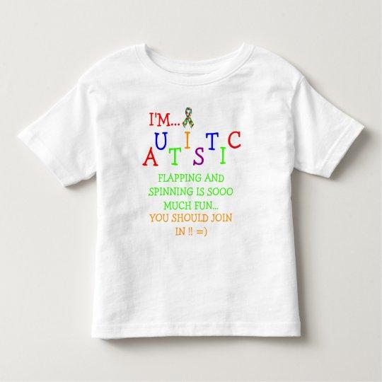 Autistic Olympics! ~ Toddler T-Shirt