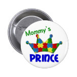 Autistic Prince 3 AUTISM Pinback Buttons