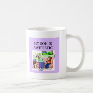 autistic son and mother coffee mugs