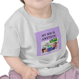autistic son and mother shirts