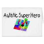 Autistic Super Hero Greeting Cards