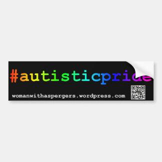 #autisticpride Bumper Sticker