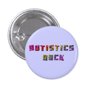 Autistics Rock Buttons