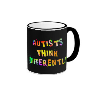 Autists Think Differently Mugs
