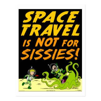 "Autmum Lake ""SPACE TRAVEL"" Alien Postcard"