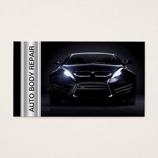 Auto Body Collision Shop Business Cards