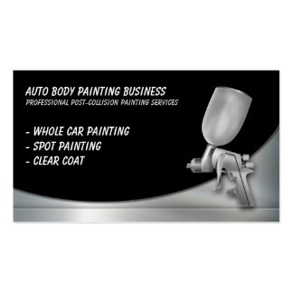 Auto Body Painting | Professional Pack Of Standard Business Cards