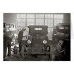 Auto Body Shop, 1926 Cards