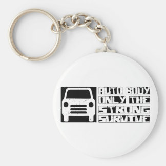 Auto Body Survive Key Ring