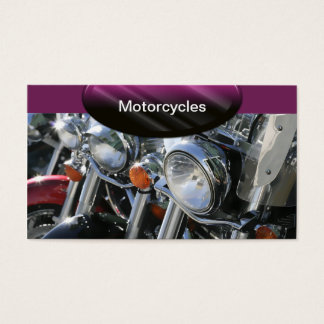 Auto Business Cards Motorcycles