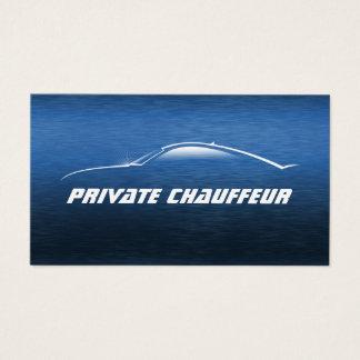 Auto Car Private Chauffeur Driver Business Card