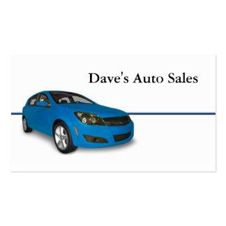 Auto Dealer Business Card