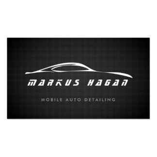 AUTO DETAILING, AUTO REPAIR BUSINESS CARD