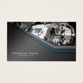 Auto detailing car repair business card