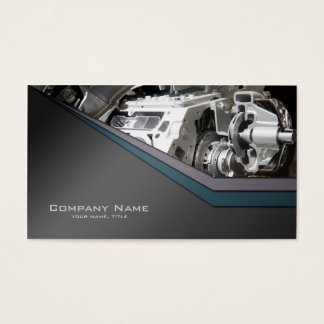 Auto detailing car repair business card