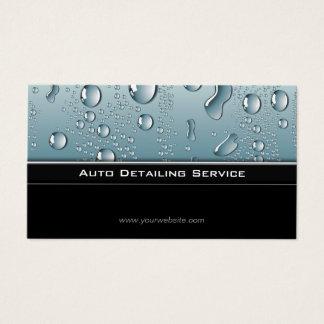 Auto Detailing Professional Automotive Car Business Card