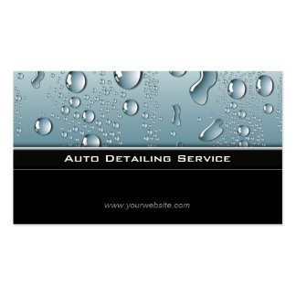 Auto Detailing Professional Automotive Car Pack Of Standard Business Cards