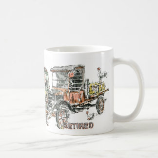 Auto: Dilapidated Vehicles Coffee Mug