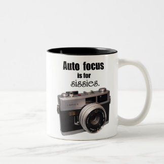 Auto Focus is for sissies mug