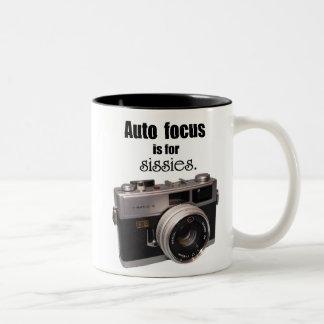 Auto Focus is for sissies mug