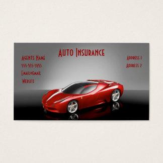 auto insurance business card
