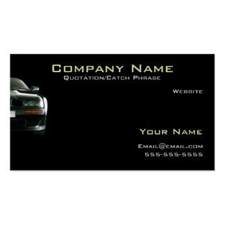 Auto/Insurance Business card