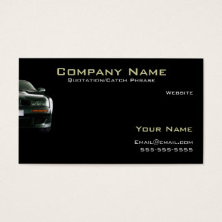 Auto/Insurance Business card